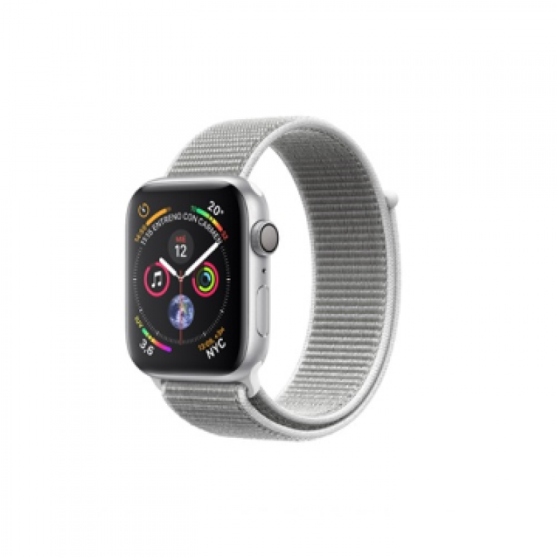 Jose Antonio García. Regalos.APPLE WATCH SERIE 5 GP 40MM ALUMINIO  PLATA Y CORREA DEPORTIVA